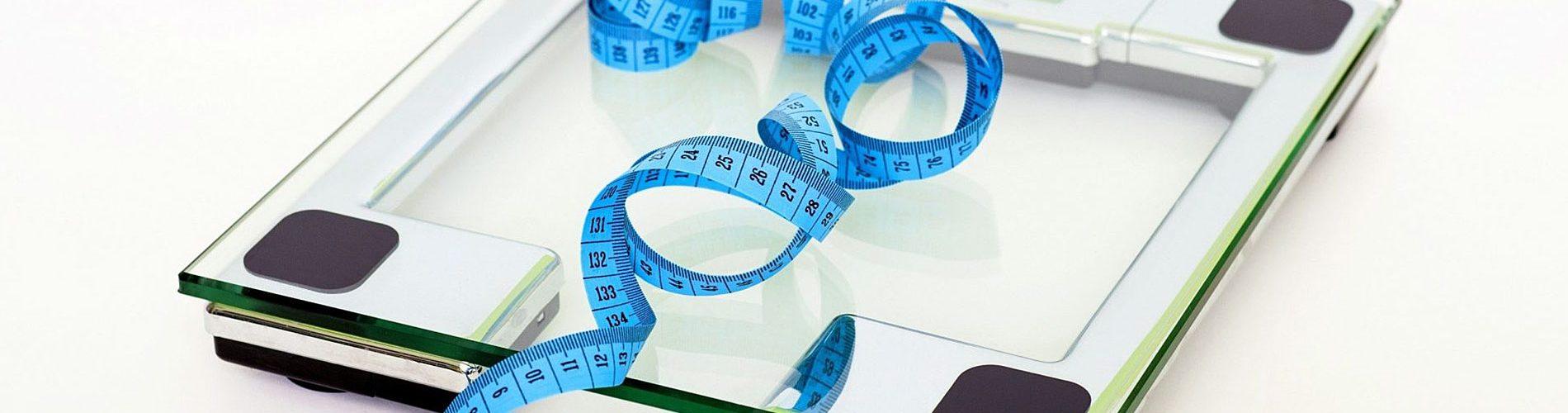 Perdere peso e verificare sulla bilancia