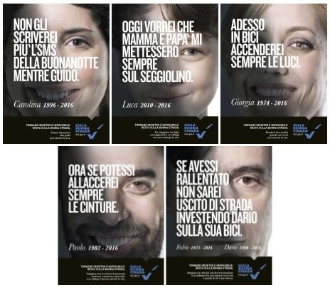 Campagna 2016 del MIT per una guida più prudente. Esempio di propaganda positiva.